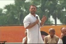 Rahul Gandhi Kicks Off UP Polls Campaign from Deoria