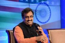 Ram Madhav Hints 'Not Talking' is Part of Centre's Kashmir Strategy
