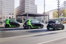 Three New Models From Daimler's Smart EV Range to Debut at Paris Motor Show