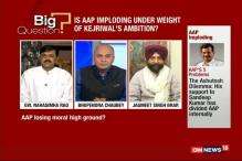 Is The AAP Imploding Under The Weight Of Kejriwal's Ambitions?