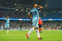 Sergio Aguero Hat-Trick Helps Manchester City Trounce Moenchengladbach 4-0