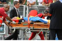 AC Milan's Luca Antonelli in Hospital After a Head Injury