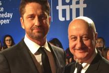 Anupam Kher Shares TIFF Red Carpet Moments with Gerard Butler and Team