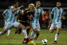 Argentina Salvage Draw at Venezuela; Uruguay, Brazil Win