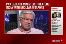 Watch: Pak Defence Minister Threatens India With Nuclear Weapons