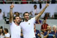 Davis Cup: Croatia Stun in Doubles to Lead France 2-1