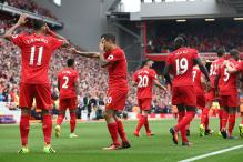 Liverpool Thrash West Ham to Close in on Champions League