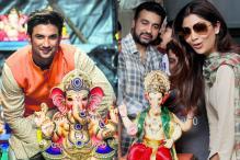 Ganesh Chaturthi 2016: Sushant Singh Rajput, Shilpa Shetty and Other Stars Celebrate Ganpati Festival with Fervour