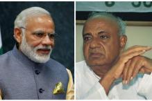 Deve Gowda Says He Feels Modi's Pain, Slams Lutyen's Delhi Elite