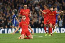Stunning Jordan Henderson Strike Helps Liverpool Beat Chelsea 2-1