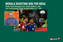 Morale-boosting Win for India Against Puerto Rico