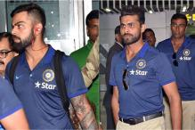 Team India Arrives in Kolkata For Second Test