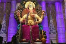 Lalbaugcha Raja's Magnificent Statue Unveiled Ahead of Ganesh Chaturthi