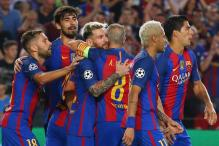 Champions League: Barcelona Sink Celtic, Deluge Washes Out Manchester City