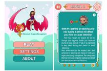 Pakistani Entrepreneur Develops Menstruation Game App to Break Taboos