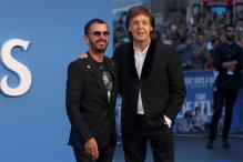 McCartney, Starr Reunite on Blue Carpet for Beatles Documentary