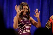 Michelle Obama Turned Down a Role in The Simpsons