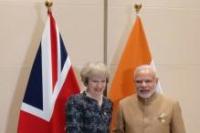 Modi Meets UK's New PM Theresa May, Discuss Bilateral Ties