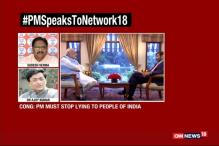 Watch: Congress, BJP Battle It Out Over Modi's Interview to Network18