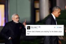 This Modi and Obama Photo is the Meme We Deserve
