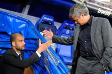 Pep Guardiola And Jose Mourinho Resume Hostilities in Derby Duel