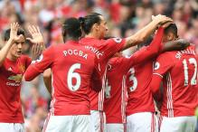 Manchester United Thrash Leicester City 4-1 Without Wayne Rooney