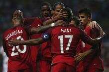 Nani Scores Brace as Portugal Thrash Gibraltar 5-0