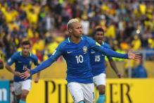 Jesus, Neymar Help Brazil Beat Ecuador; Colombia Win