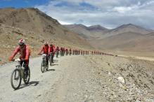 500 Nuns Cycle Across Himalayas To Oppose Human Trafficking