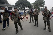 Security Agencies Carry Out Search for Armed Men in Pathankot
