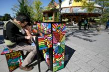 Boston Embraces Painted Pianos That Have Popped Up On Its Streets