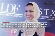 Muslim Woman Wearing  Hijab To Feature In Playboy Magazine