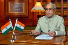 President Pranab Mukherjee Launches Pulse Polio Programme For 2017