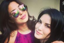 Sunny Leone, Priyanka Chopra Bond at New York Fashion Week