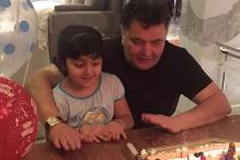 Rishi Kapoor Rings In His Birthday With Grand Daughter Samara