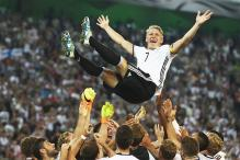 Tearful Bastian Schweinsteiger Bows Out in Germany's Win