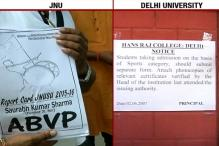 Delhi University, JNU Student Union Elections: Voting Underway