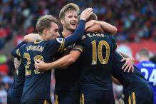 Tottenham Thrash Stoke 4-0; Santi Cazorla Penalty Rescues Arsenal