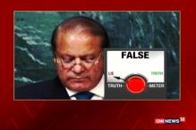 Watch: Nawaz Sharif's Truth Test