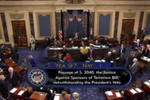 Congress Rebukes Obama, Overrides Veto of 9/11 Legislation