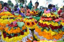Telanagana's Bathukamma or Flower Festival Event Enters Record Book