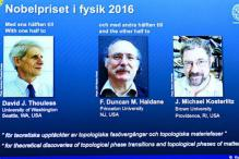 David Thouless, Duncan Haldane and Michael Kosterlitz Receive Nobel Prize in Physics