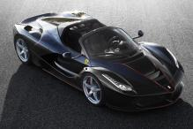 LaFerrari Aperta Gets The Party Started For Ferrari at Paris Motor Show