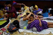 Super Typhoon Haima Barrels Through Northern Philippines