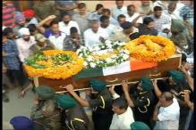 Watch: Final Salute to Mandeep Singh