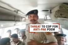 Police Officer Receives Death Threat For Reciting Patriotic Poem Against Pakistan