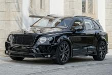 Bentley Bentayga Gets Mansory's Touch, To Be Showcased at SEMA