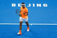 Nadal Eases Into Quarters During Rain-Hit Day at China Open