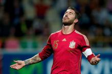 Real Madrid's Sergio Ramos Sidelined with Knee Sprain