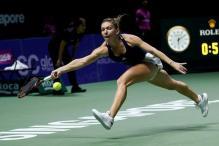 Simona Halep Unlocks 'Keys' to Open WTA Finals